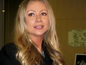 """Мария Миронова, актриса, на пресс-конференции в МИА """"Россия сегодня"""" (Фото Юлии Руденко)"""
