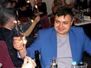 """Новогодняя ночь в кафе """"Сценарио"""". Фото Юлии Руденко"""