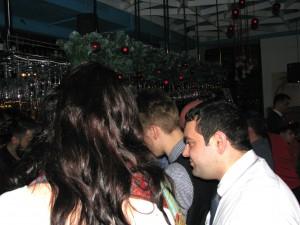 """Новогодняя ночь в """"Сценарио"""". Фото Юлии Руденко."""