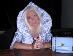 Лана Киселёва на презентации клипа Юлии Бойко (Фото - Юлия Руденко)