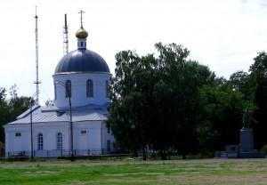 Храм Рождества Христова в Уварово Тамбовской области. Фото Юлии Руденко.
