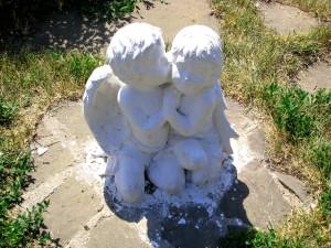Ангелочки перед ЗАГСом в Уварово Тамбовской области. Фото Юлии Руденко.