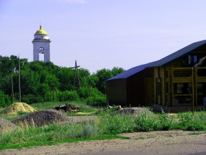 Церковь Троицы Живоначальной в селе Бобылёвка. Фото Юлии Руденко.