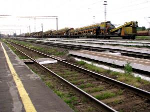 Пути железной дороги на вокзале в Балашове. Фото Юлии Руденко.