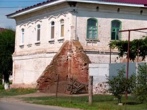 Старинное здание в Елани Волгоградской области. Фото Юлии Руденко.