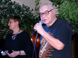 Михаил Сапожников в джаз-клубе Алексея Козлова. Фото Юлии Руденко.