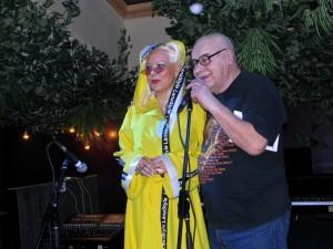 Лана Киселёва и Михаил Сапожников в джаз-клубе Алексея Козлова. Фото Юлии Руденко.